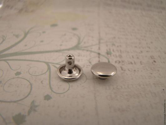 Другие виды рукоделия ручной работы. Ярмарка Мастеров - ручная работа. Купить Хольнитен 9мм на 6мм 2ст никель. Handmade.
