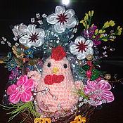 Подарки на 8 марта ручной работы. Ярмарка Мастеров - ручная работа Подарки на 8 марта: Корзинки   праздничные. Handmade.