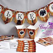 Подарки к праздникам ручной работы. Ярмарка Мастеров - ручная работа Набор для декора дня рождения в стиле Как приручить драковна. Handmade.