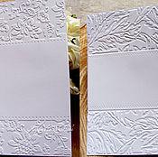 """Бумага ручной работы. Ярмарка Мастеров - ручная работа Арт.Т06 -  Бумага с тиснением """" Растительные орнаменты"""". Handmade."""