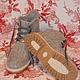 Обувь ручной работы. Заказать Ботинки валяные женские Элли. Татьяна Загайнова (varuta). Ярмарка Мастеров. Обувь на заказ