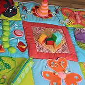 Куклы и игрушки ручной работы. Ярмарка Мастеров - ручная работа Развивающий коврик Яркое Лето. Handmade.