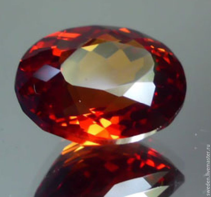 ZIRCON natural of 2,08 carats. certificate, Beads1, Moscow,  Фото №1