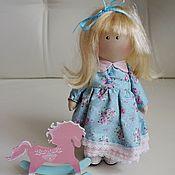 Куклы и игрушки ручной работы. Ярмарка Мастеров - ручная работа Куколка с лошадкой. Handmade.