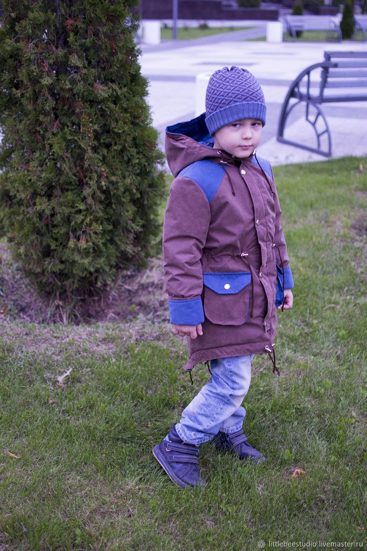 Демисезонная парка для мальчика, Одежда для мальчиков, Пенза, Фото №1