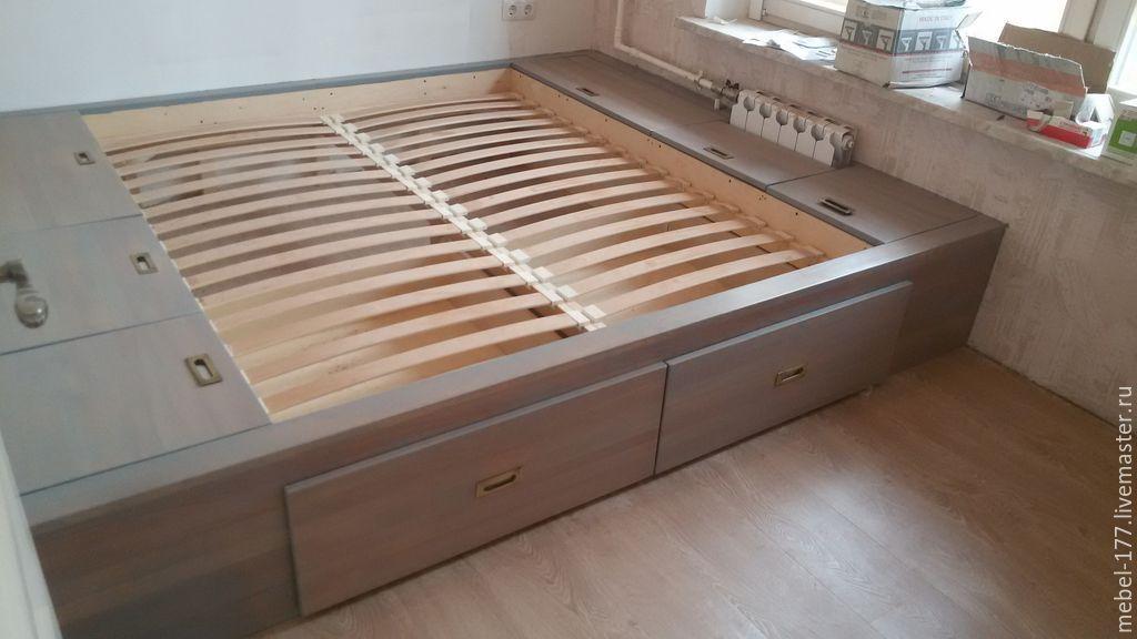 Как сделать подиум кровать своими руками