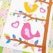 Для дома и интерьера handmade. Livemaster - original item Baby quilt FLOWERS. Handmade.