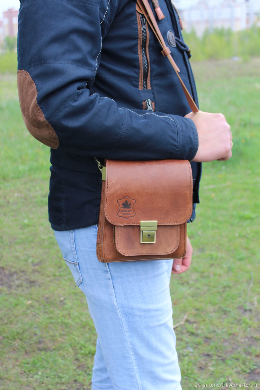 Men's bag: Shoulder bag, Men\'s bag, Lipetsk,  Фото №1