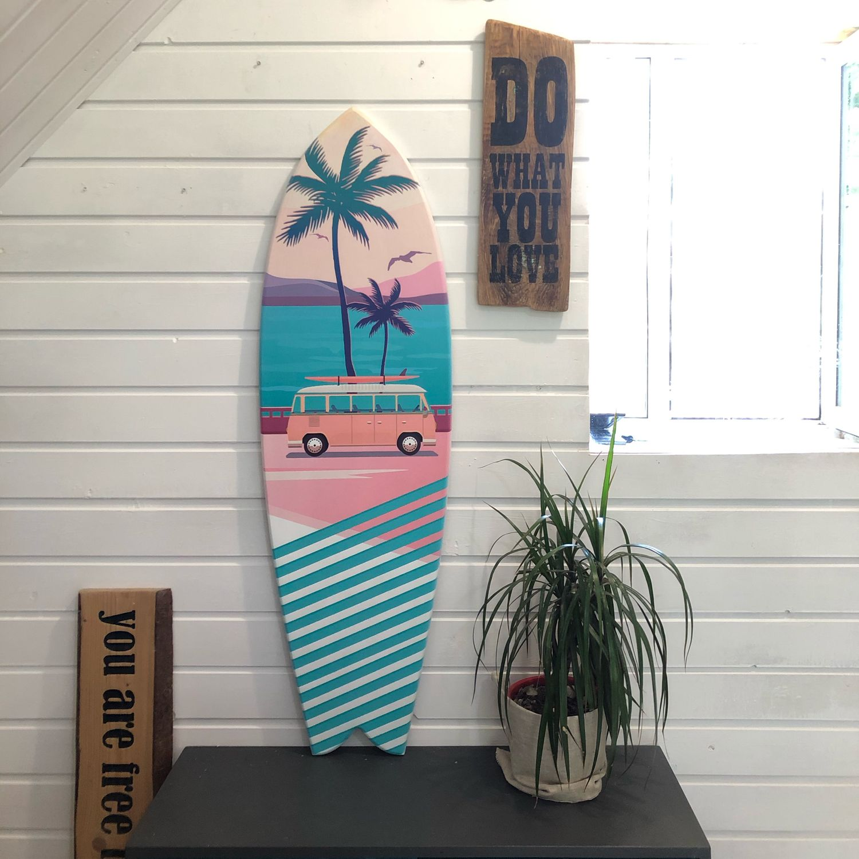 Surf board.  Decorative surf Board, Panels, Smolensk,  Фото №1