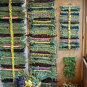 Русский стиль ручной работы. Ярмарка Мастеров - ручная работа Большая дорожка из трав на основе полыни. Handmade.