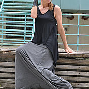 Одежда handmade. Livemaster - original item Loose pants of cotton, - PA0800TR. Handmade.