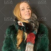Аксессуары handmade. Livemaster - original item Fur scarf . Transformer . Fur trim on the hood .. Handmade.