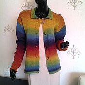 Одежда ручной работы. Ярмарка Мастеров - ручная работа Жакет Кауни. Handmade.