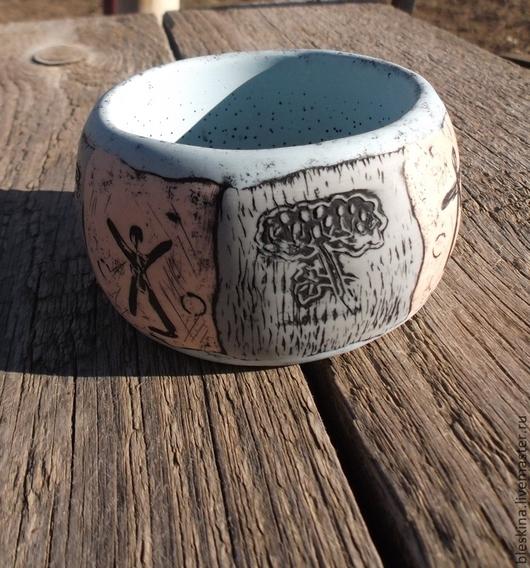Браслеты ручной работы. Ярмарка Мастеров - ручная работа. Купить Браслет Саванна (широкий из полимерной глины). Handmade. Разноцветный