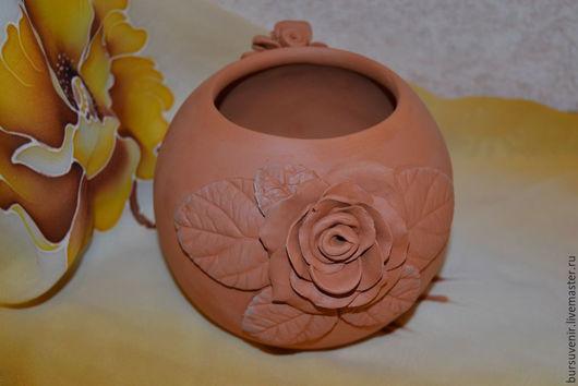 Вазы ручной работы. Ярмарка Мастеров - ручная работа. Купить ваза керамическая. Handmade. Коричневый, обжиг, ваза для цветов