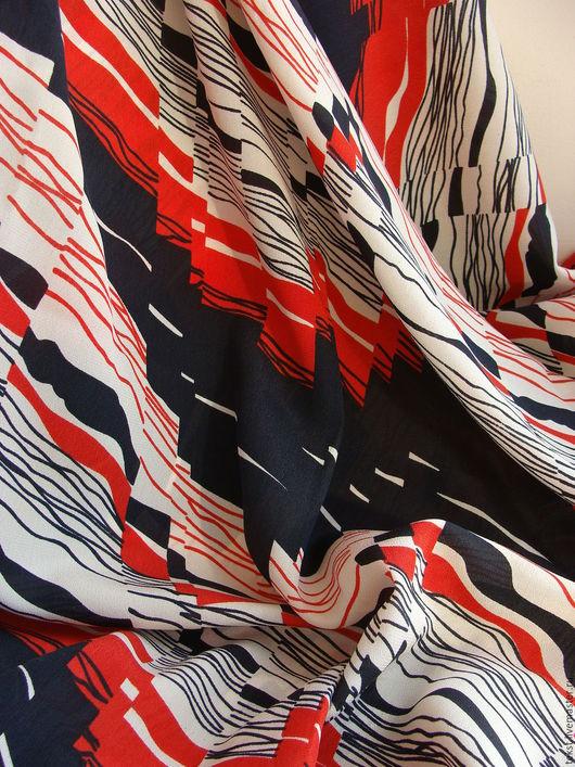 Шитье ручной работы. Ярмарка Мастеров - ручная работа. Купить отложено 240 х 92 см. Ткань крепдешин, натуральный шелк.. Handmade.