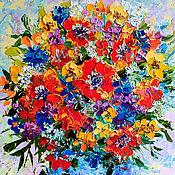 Картины и панно handmade. Livemaster - original item Poppies painting