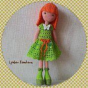 Куклы и игрушки ручной работы. Ярмарка Мастеров - ручная работа Куколка Ларочка крючком. Handmade.