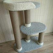 Аксессуары для питомцев ручной работы. Ярмарка Мастеров - ручная работа Когтеточка, домик для кошек. Handmade.