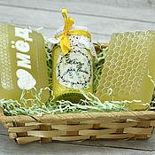 Косметика ручной работы handmade. Livemaster - original item Set of cosmetics Honey. Handmade.