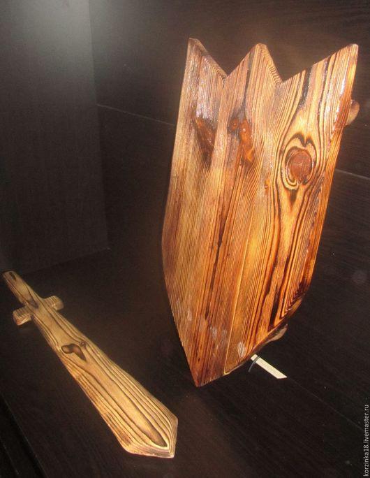 Оружие ручной работы. Ярмарка Мастеров - ручная работа. Купить Щит и меч для отработки ударов. Handmade. Оруженосец, воины света