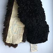 Винтаж ручной работы. Ярмарка Мастеров - ручная работа Воротник с биркой овчина 92 х 12 см винтаж. Handmade.