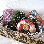 """Косметика ручной работы. Ярмарка Мастеров - ручная работа Набор мыла """"Каменный цветок"""", подарки на 8 марта, мыло 8 марта, цветы. Handmade."""