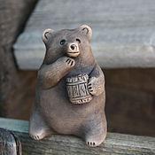 Куклы и игрушки ручной работы. Ярмарка Мастеров - ручная работа Окарина Медведь. Handmade.