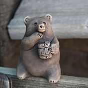 Музыкальные инструменты handmade. Livemaster - original item Ocarina Bear. Handmade.