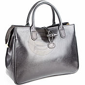 Сумки и аксессуары handmade. Livemaster - original item Women`s leather shoulder bag champagne black. Handmade.