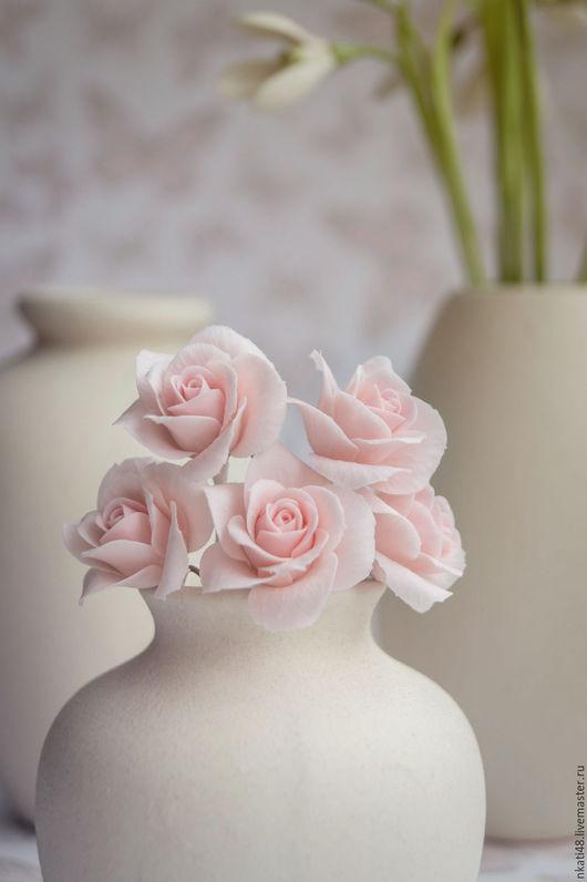 Заколки ручной работы. Ярмарка Мастеров - ручная работа. Купить Шпильки с розами. Handmade. Комбинированный, свадебные аксессуары