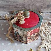 """Шкатулки ручной работы. Ярмарка Мастеров - ручная работа Шкатулка для колец  """"Сказка-быль"""". Handmade."""