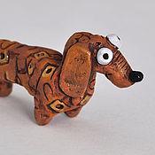 Сувениры и подарки handmade. Livemaster - original item Ceramic dachshund Tosya. Handmade.