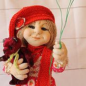 Куклы и игрушки handmade. Livemaster - original item Doll OLYA. Handmade.