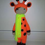 Куклы и игрушки ручной работы. Ярмарка Мастеров - ручная работа Жирафа Джина. Handmade.