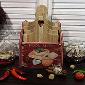"""Для дома и интерьера ручной работы. Ярмарка Мастеров - ручная работа """" Fromages"""" набор досок из дуба. Handmade."""