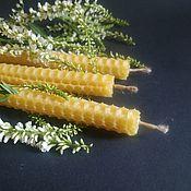 Фен-шуй и эзотерика handmade. Livemaster - original item Candles Donnik from negative 5 PCs Kupala herbs. Handmade.