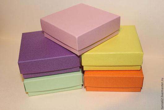 Упаковка ручной работы. Ярмарка Мастеров - ручная работа. Купить Коробочки 26. Handmade. Разноцветный, упаковка, для бижутерии, декоративная бумага