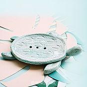 Для дома и интерьера ручной работы. Ярмарка Мастеров - ручная работа ЧЕРЕПАШКА МЫЛЬНИЦА. Handmade.