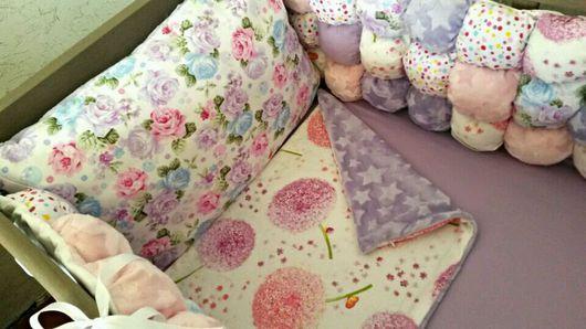 Для новорожденных, ручной работы. Ярмарка Мастеров - ручная работа. Купить Бортики в кроватку. Handmade. Бортики