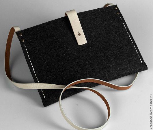 Сумки для ноутбуков ручной работы. Ярмарка Мастеров - ручная работа. Купить сумка для iPad. Handmade. Сумка, чехол для ноутбука, фетр