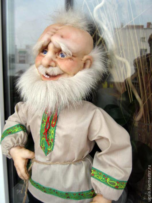 Коллекционные куклы ручной работы. Ярмарка Мастеров - ручная работа. Купить Кукла Дед-Домовой. Handmade. Домовой, подарок иностранцу