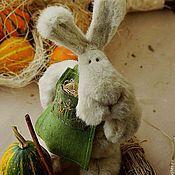 Куклы и игрушки ручной работы. Ярмарка Мастеров - ручная работа Заяц-Пафнутий. Handmade.
