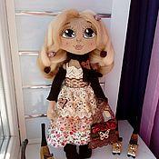 Куклы и игрушки ручной работы. Ярмарка Мастеров - ручная работа Интерьерная кукла в стиле бохо - Наташа.. Handmade.