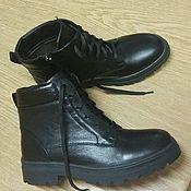 Обувь ручной работы. Ярмарка Мастеров - ручная работа Ботинки женские из натуральной кожи. Handmade.