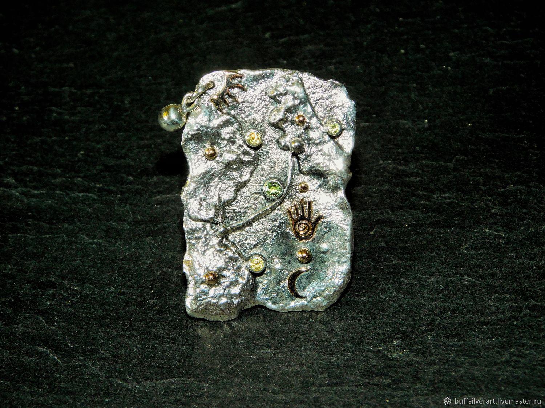 Silver ring 'Key to all doors 2.0' , Rings, Ekaterinburg,  Фото №1