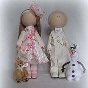 Куклы и игрушки handmade. Livemaster - original item Interior textile doll Author - Anastasia.. Handmade.