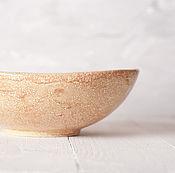 """Посуда ручной работы. Ярмарка Мастеров - ручная работа Блюдо Охра"""". Handmade."""