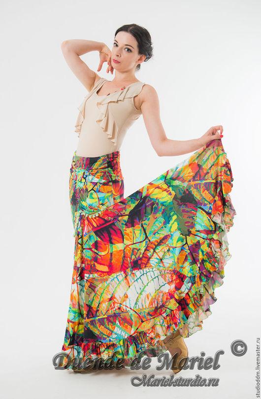 Юбка `Феерия` Отлично смотрится на любом типе фигуры! Данную модель можно выполнить в любом другом цвете, материале на заказ.
