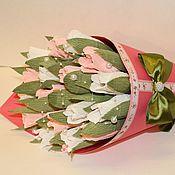 Цветы и флористика ручной работы. Ярмарка Мастеров - ручная работа Букет из конфет. Сладкий подарок.. Handmade.